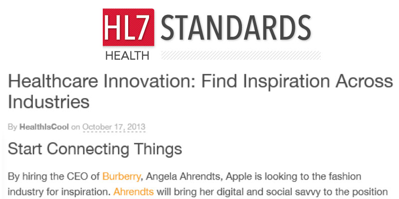 Healthcare Innovation: Find Inspiration Across Industries