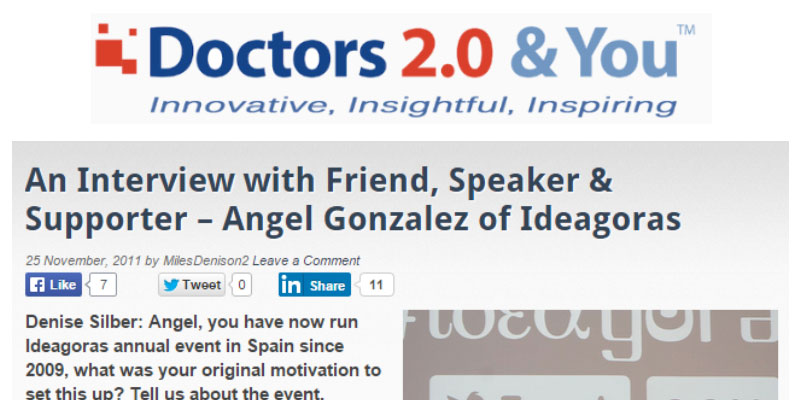 An Interview with Friend, Speaker & Supporter – Angel Gonzalez of Ideagoras