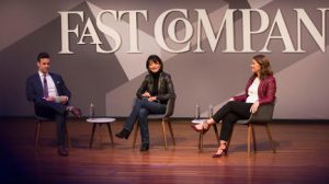 Regina Dugan and Melinda Gates